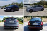 Skoda Octavia RS 2.0 TSI DSG vs. Ford Focus ST 2.0 TDCi