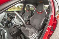 Skoda Octavia RS 245 KM - fotele
