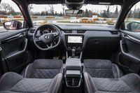 Skoda Octavia RS 245 KM - wnętrze