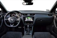 Skoda Octavia RS 245 - wnętrze