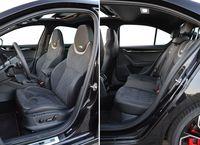Skoda Octavia RS 245 - fotele