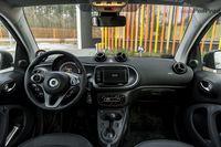 Smart Fortwo Electric Drive - wnętrze