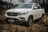 SsangYong Musso - pickup dobry na co dzień