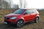 SsangYong Korando 2.0 e-XDi AT AWD Sapphire - dobry pomysł na SUV-a