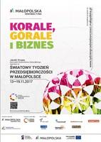 13-19 listopada 2017 r. – 8. edycja Światowego Tygodnia Przedsiębiorczości w Małopolsce