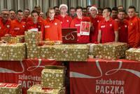 Reprezentacja Polski w piłce nożnej od lat wspiera SZLACHETNĄ PACZKĘ
