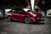 Toyota Prius Prestige - bok