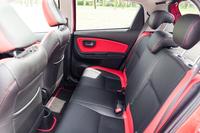 Toyota Yaris 1.33 Dynamic - tylne fotele