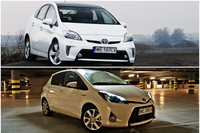 Toyota Prius 1.8 HSD Prestige FL vs Toyota Yaris Hybrid 100 Dynamic