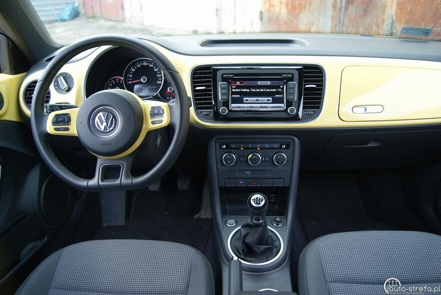 volkswagen beetle 1 4 tsi design testy aut. Black Bedroom Furniture Sets. Home Design Ideas