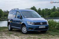Volkswagen Caddy Furgon 1.4 TGI - z przodu