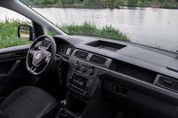 Volkswagen Caddy Furgon 1.4 TGI - deska rozdzielcza