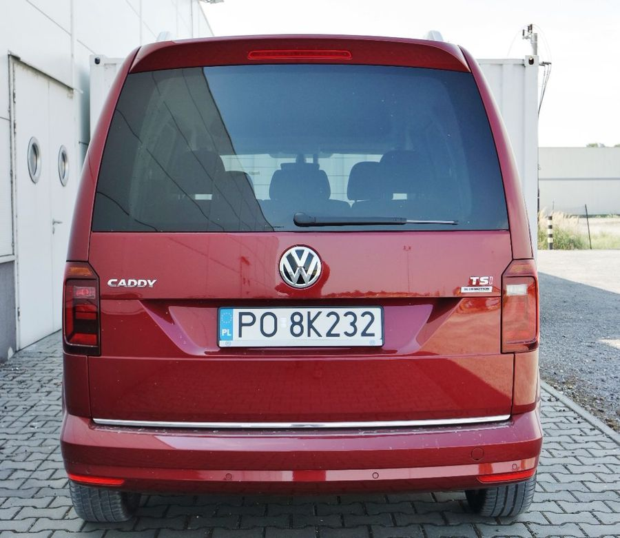 volkswagen caddy 1 4 tsi comfortline nie rozczaruje. Black Bedroom Furniture Sets. Home Design Ideas