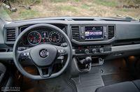 Volkswagen Crafter 2.0TDI 140KM - kierownica, deska