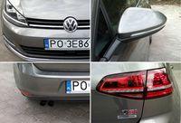 Volkswagen Golf 1.4 TSI DSG Highline - przedni i tylny reflektor/logo