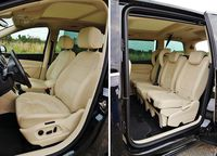Volkswagen Sharan 2.0 TDI DSG Highline - fotele