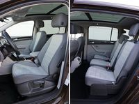Volkswagen Touran 2.0 TDI Highline - fotele
