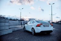 Volvo S60 Polestar - z tyłu