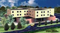 Wizualizacja hotelu w Święcicach, którego wartość w momencie ukończenia można szacować na 42,7 mln z