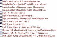 Zainfekowane pliki o High School Musical