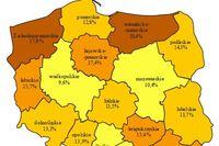 Bezrobocie w Polsce IV 2012