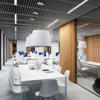 TEAL OFFICE - wnętrze biurowe