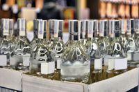 Eksport wódki w górę