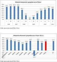 Wskaźniki aktywności gospodarczej w Polsce/Wskaźniki aktywności gospodarczej w lutym 2011 r.