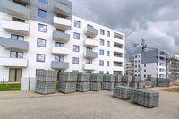 Budowa mieszkań w X 2015 r.