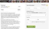 Weryfikacja konta za pomocą numeru karty płatniczej