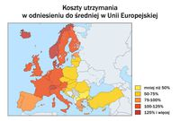 Koszty utrzymania w UE