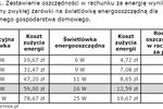 Opłaty za prąd a żarówki energooszczędne
