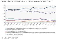 Zadłużenie gospodarstw domowych - struktura
