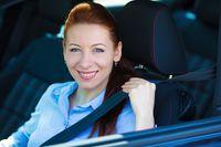 Samochód służbowy okiem kobiety