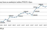 Największe spółki giełdowe VII 2010