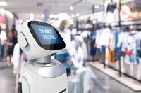 Robot w sklepie