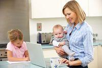 Jak pracować z domu z dziećmi?