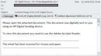 Fałszywa wiadomość email