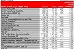 Spółki indeksu WIG20 w I kw. 2010 r.