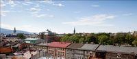 Apartamenty Sfera - widok z okien