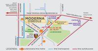 Osiedle Moderna - plan sytuacyjny