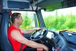 Kierowca samochodu ciężarowego