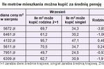 Wynagrodzenia VIII 2010 a zdolność kredytowa