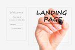 Landing page: mała litera przyciąga uwagę
