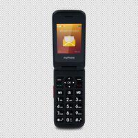 myPhone Flip 4 - ekran