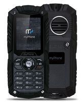 Telefon myPhone Hammer Plus - czarny