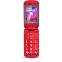 Telefon myPhone Metro czerwony - ekran