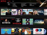 Netflix w Polsce- strona główna