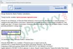 Atak phishingowy na klientów Deutsche Banku