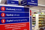 Samoobsługowy supermarket Tesco